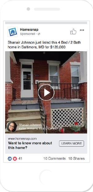 shanair johnson facebook video ad