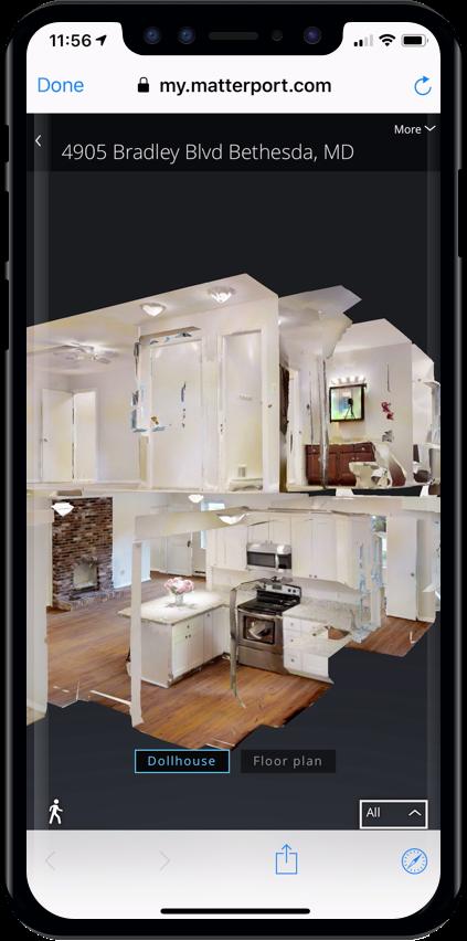 Dollhouse Matterport Homesnap 3D Home Tours
